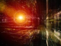 Profundidade da tecnologia Imagens de Stock