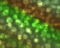 Profundidade do bokeh do brilho de campo muito rasa natural Foto de Stock