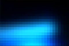 Profundo e pálido - o quadrado azul do mosaico telha o fundo ilustração do vetor