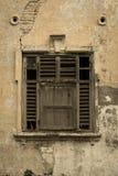Progettazione antica di Windows Fotografie Stock Libere da Diritti