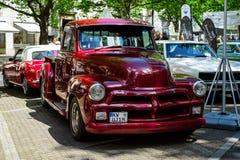 Progettazione 3100, 1954 in anticipo di Chevrolet del camioncino Immagine Stock Libera da Diritti