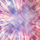 Progettazione astratta del fondo di arte moderna con gli strati dello starburst o dello sprazzo di sole e del diamante royalty illustrazione gratis