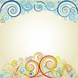 Progettazione astratta di colore del fondo Immagini Stock