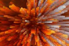 Progettazione astratta di struttura del fondo di esplosione, moderno digitale illustrazione di stock