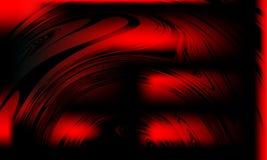 Progettazione astratta di vettore del fondo della sfuocatura rossa e nera, fondo protetto vago variopinto immagine stock libera da diritti