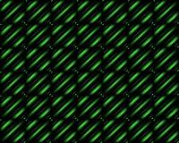 Progettazione astratta nera e verde Vettore immagini stock