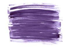 Progettazione astratta porpora del colpo dell'acquerello su struttura di carta royalty illustrazione gratis