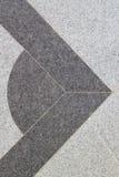 Progettazione astratta sul pavimento di marmo Fotografia Stock