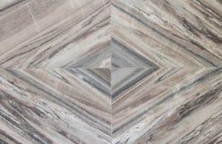 Progettazione astratta sul pavimento di marmo Immagini Stock