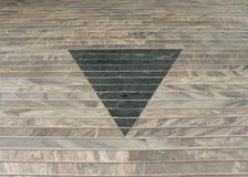 Progettazione astratta triangolare Fotografia Stock Libera da Diritti