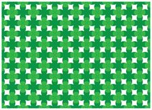 Progettazione astratta verde della curva Fotografie Stock Libere da Diritti