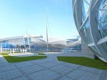 Progettazione azionata Megamall del tetto Immagine Stock Libera da Diritti