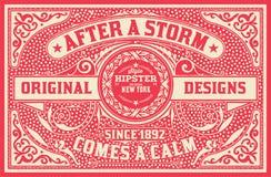 Progettazione barrocco con gli ornamenti ed i dettagli floreali, carta dei pantaloni a vita bassa Fotografia Stock