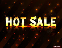 Progettazione calda di vendita royalty illustrazione gratis