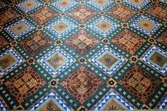 Progettazione ceramica delle mattonelle di pavimentazione Fotografie Stock Libere da Diritti