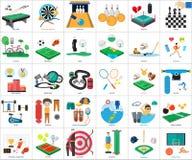 Progettazione concettuale dei premi e di sport royalty illustrazione gratis