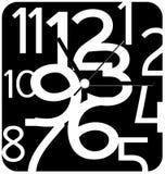 Progettazione creativa del fronte di orologio Fotografie Stock Libere da Diritti