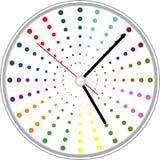 Progettazione creativa del fronte di orologio Fotografia Stock Libera da Diritti
