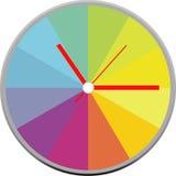 Progettazione creativa del fronte di orologio Immagine Stock Libera da Diritti