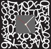 Progettazione creativa del fronte di orologio Fotografie Stock