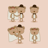Progettazione degli orsi illustrazione di stock