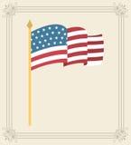Progettazione degli S.U.A. illustrazione di stock