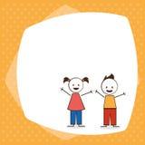 Progettazione dei bambini Immagini Stock