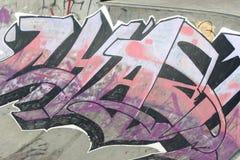 Progettazione dei graffiti Immagini Stock Libere da Diritti