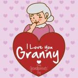 Progettazione dei nonni Fotografia Stock