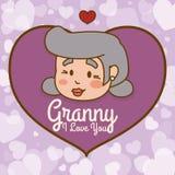 Progettazione dei nonni Immagine Stock Libera da Diritti