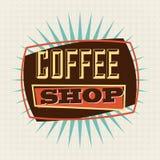 Progettazione del caffè Fotografie Stock Libere da Diritti