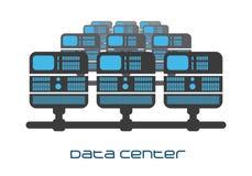 Progettazione del centro dati royalty illustrazione gratis