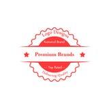 Progettazione del distintivo di logo royalty illustrazione gratis