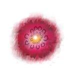 Progettazione del fiore dell'acquerello illustrazione vettoriale