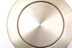 Progettazione del fondo dell'argento dell'acciaio inossidabile Fotografia Stock Libera da Diritti