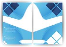 Progettazione del fondo di vettore un verticale dell'opuscolo dell'aletta di filatoio Fotografie Stock