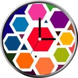 progettazione del fronte di orologio Immagine Stock