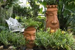 Progettazione del giardino della brocca della caraffa per l'acqua Immagine Stock Libera da Diritti