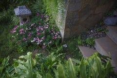 Progettazione del giardino della locanda immagine stock libera da diritti