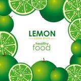 Progettazione del limone Fotografie Stock