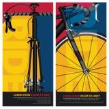 Progettazione del manifesto della bicicletta illustrazione vettoriale