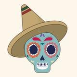 Progettazione del Messico Icona della cultura Illustrazione variopinta Immagini Stock Libere da Diritti