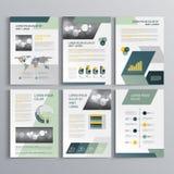 Progettazione del modello dell'opuscolo Immagini Stock Libere da Diritti