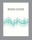 Progettazione del modello di copertura dell'opuscolo del libro di vettore Fotografia Stock Libera da Diritti