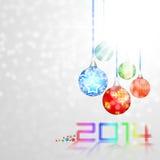 Progettazione del nuovo anno royalty illustrazione gratis