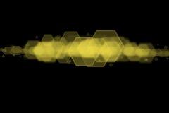 Progettazione del pettine del miele illustrazione di stock