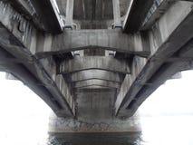 Progettazione del ponte Fotografie Stock
