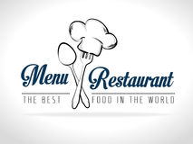 Progettazione del ristorante Fotografia Stock
