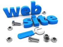 Progettazione del sito Web Fotografia Stock