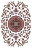 Progettazione del tappeto persiano Immagini Stock